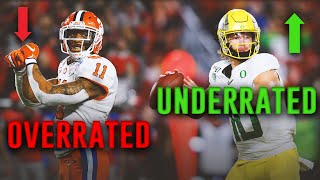The Most Overrated AND Underrated players in the 2020 NFL Draft