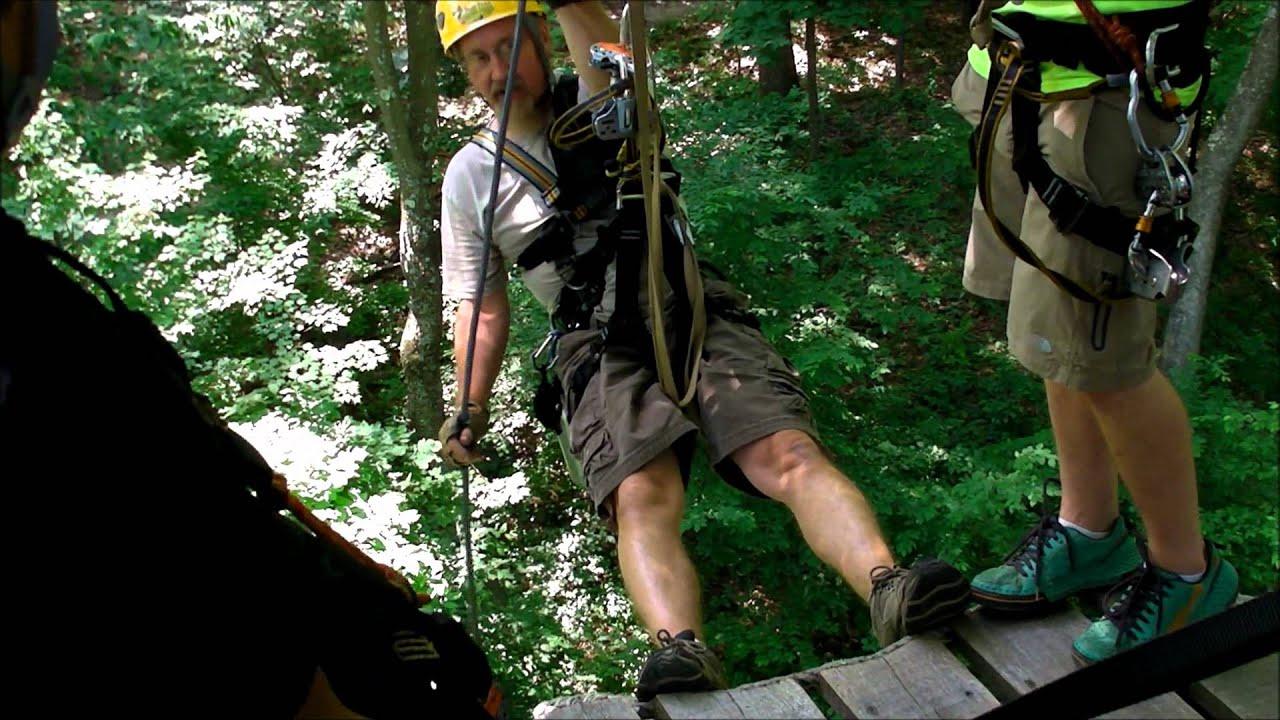 Treefrog Canopy Tours Zip Line Ohio Zip Lining & Treefrog Canopy Tours Zip Line Ohio Zip Lining - YouTube