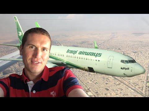 Tourist in Iraqi Airways
