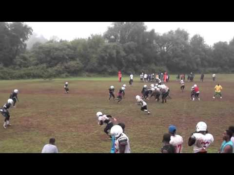 Corey Felton VUL Football Practice: Against bubble screen sound technique