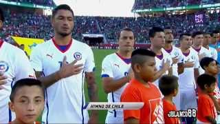 Chile [Amistoso] {Himno Nacional}  06/09/2014 