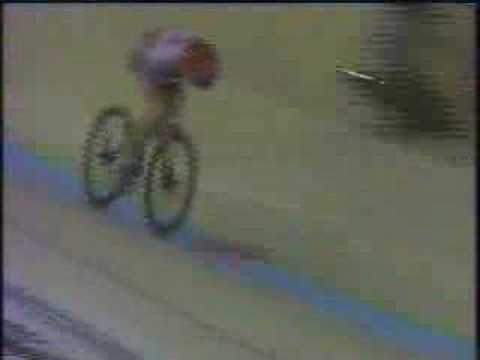 Graeme Obree World Hour Record 1993