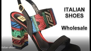 Italian shoes wholesale: brands, manufacturers and suppliers of women men shoes