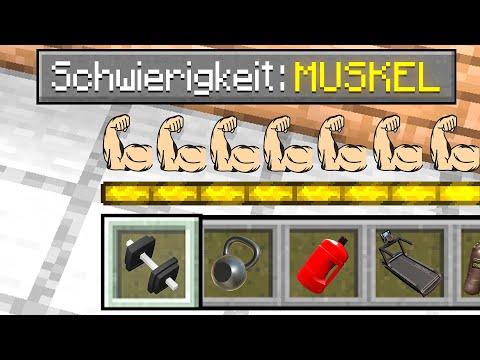 CENTEX vs. MUSKEL SCHWIERIGKEIT in Minecraft!