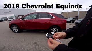 2018 Chevrolet Equinox Lt AWD 1.5L Turbo First Look Review