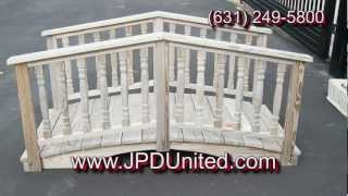Video 24 - Landscape Bridges And Decorative Outdoor Garden Bridges -- Jpd United