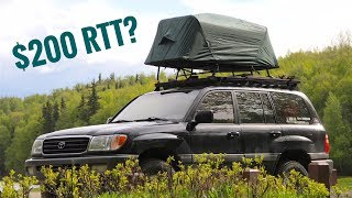 K& Rite Tent Cot | Roof Top Tent Setup | 1 of 3 & Only $168.49 for Kamp-Rite Oversize Tent-cot with Rainfly ...