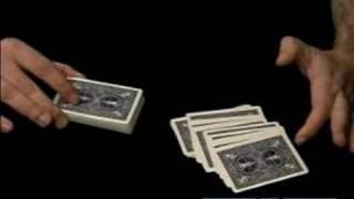 How to Shuffle Cards : Strip Cutting Shuffling a Deck of Cards
