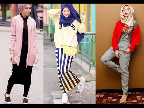 Casual Hijab Fashion Style For Girls Youtube