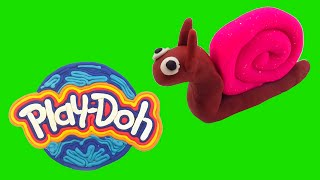 Make Your Own... | Play Doh Snail