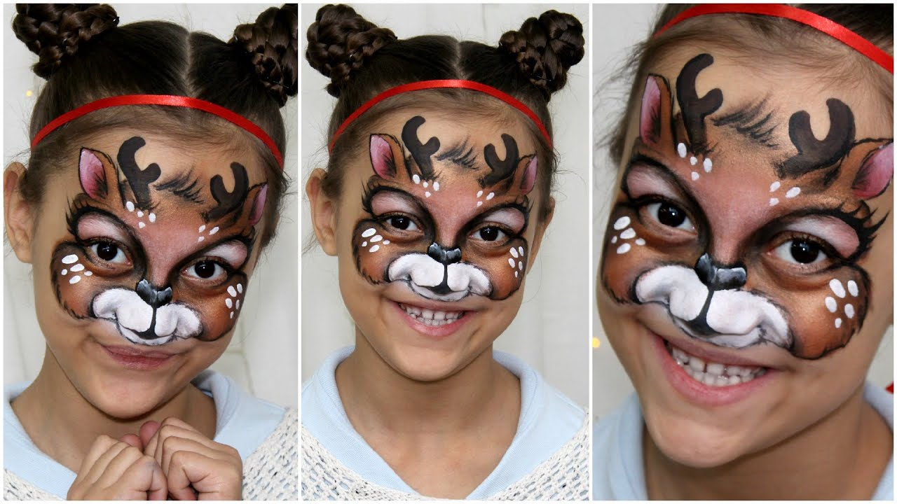 Elf Face Painting Designs