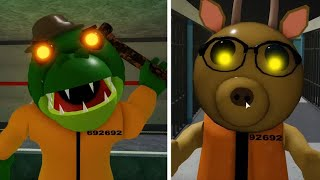 ROBLOX PIGGY 2 PRISONER ALFIS VS PRISONER TEACHER JUMPSCARE - Roblox Piggy Book 2 rp