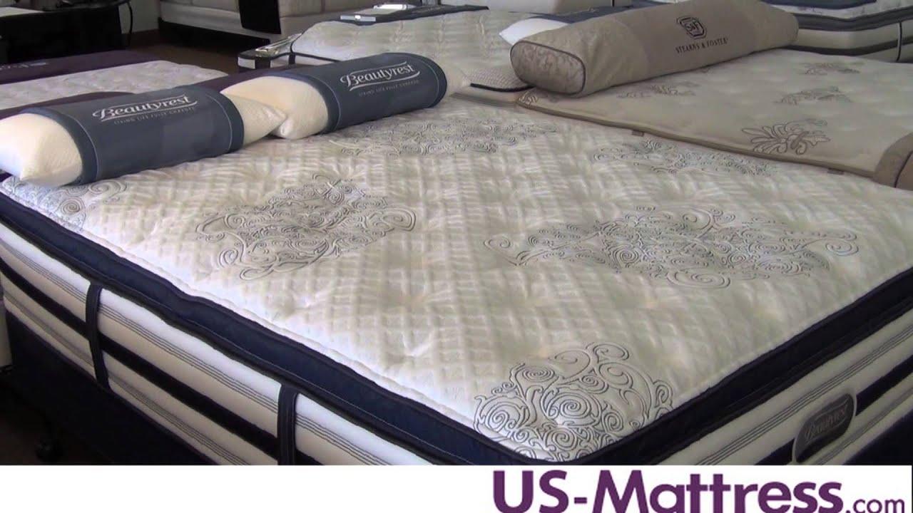 simmons beautyrest recharge world class tillingham luxury firm pillowtop mattress youtube