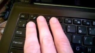видео Как пользоваться клавиатурой ноутбука