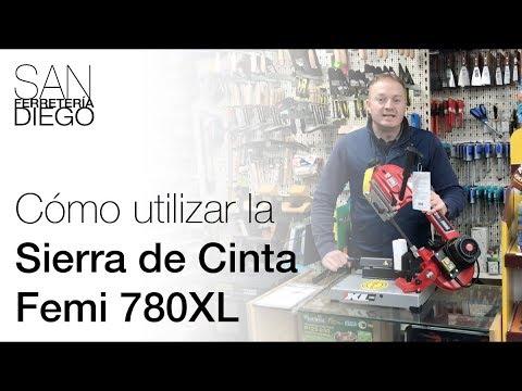 Cómo utilizar la sierra de cinta Femi 780XL y algunos trucos