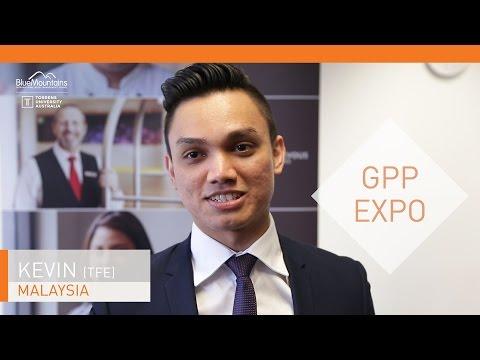 Kevin, graduate, GPP Expo, TFE