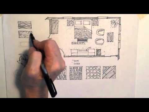 Floor plan rendering YouTube – How To Draw A Site Plan By Hand