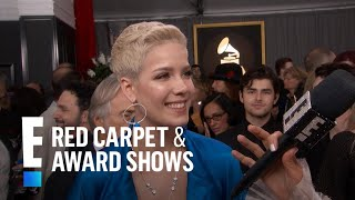 Halsey Dishes on Working With Justin Bieber   E! Live from the Red Carpet