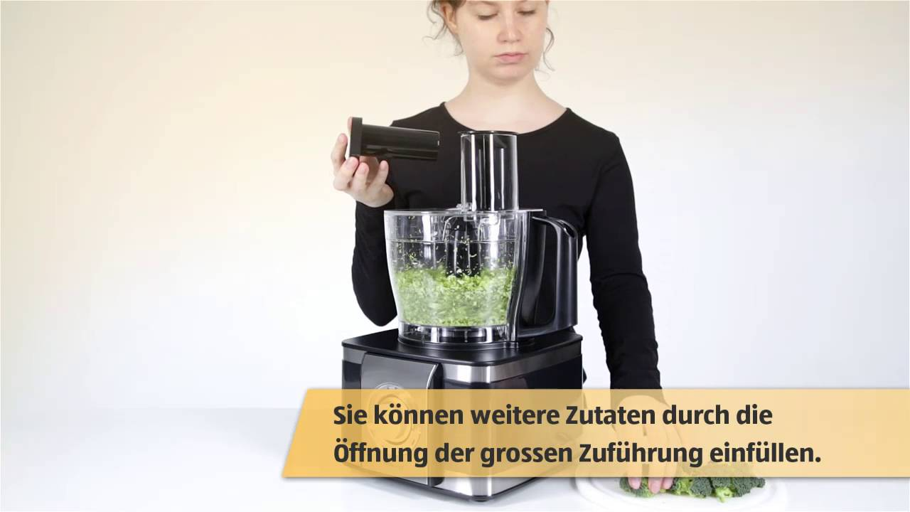 Multifunktionale Kuchenmaschine Mit Entsafter Youtube