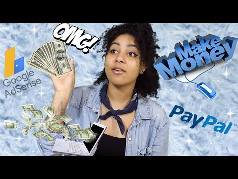 MY FIRST YOUTUBE CHECK + HOW TO MAKE MONEY ON THE INTERNET