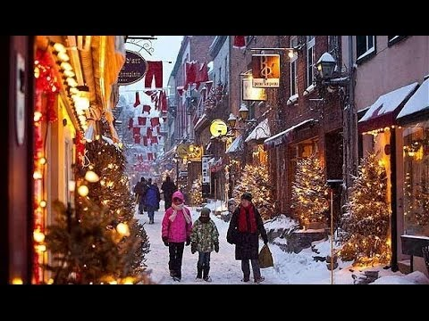 Christmas And New Year Holidays In Québec Canada