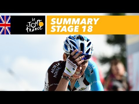 Summary – Stage 18 – Tour de France 2017