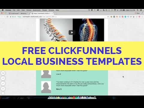 ClickFunnels Local Business Funnel Templates - Our Highest Converters!