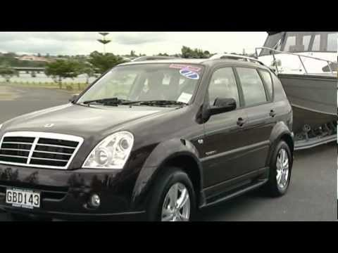 Ssangyong Rexton Review, Sheaff Vehicles
