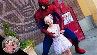 ADORABLE 5 year old Malia LOVES Spider-Man! (FIRST CRUSH EVER!) | Disneyland vlog #108