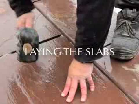 How to Lay Pool Copings from oakwood-import.com