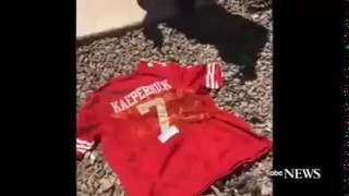Colin Kaepernick Jersey Burned by Fans
