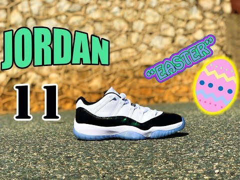 """Jordan 11 Low """"Emerald/Easter"""" 