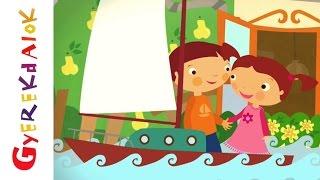 Által mennék én a Tiszán ladikon (Gyerekdalok és mondókák, rajzfilm gyerekeknek)
