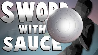 THE SHIELD ONLY CHALLENGE! - Sword With Sauce Alpha Gameplay