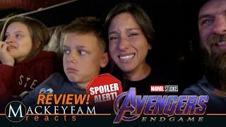 Marvel Studios' AVENGERS: ENDGAME IN THEATRE  MOVIE REACTION and REVIEW!!! (EMOTIONAL) | SPOILERS!!!