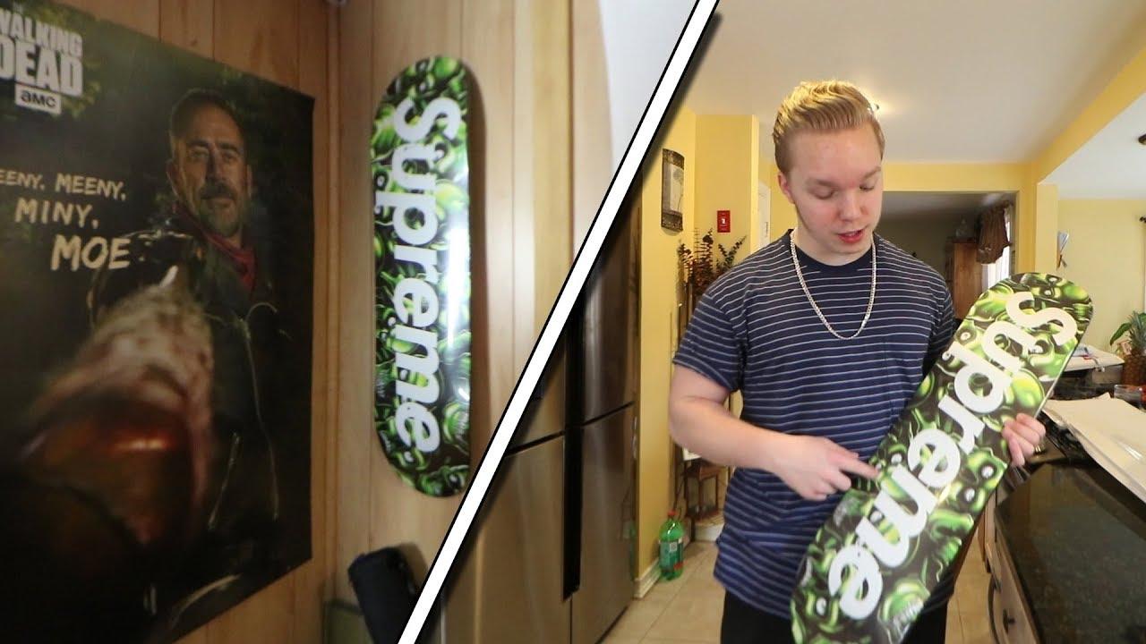 Hang Skateboard Decks On Your Wall