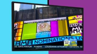 Behind-The Scenes of 2014 AMA Nominations with Chelsea Briggs - AMAs 2014