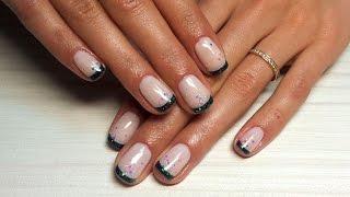 Дизайн ногтей гель-лак Shellac - Дизайн ногтей френч, французский маникюр (уроки дизайна ногтей)