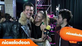 Andrés Mercado e Isabella Castillo en los Kids' Choice Awards Colombia 2016 - Mundonick