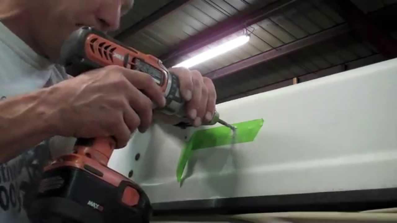 Installing Rack On Volkswagen Westfalia Youtube