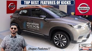 Top Features of Nissan Kicks | Best in Class Features of Nissan Kicks | Kicks vs Creta vs XUV300