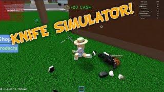 Knife Simulator Fun on Roblox!