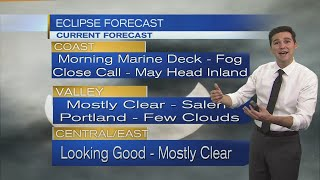 Monday Morning Eclipse Forecast August 21st, 2017