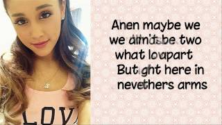Almost is Never Enough Ariana Grande ft. Nathan Sykes FULL LYRICS