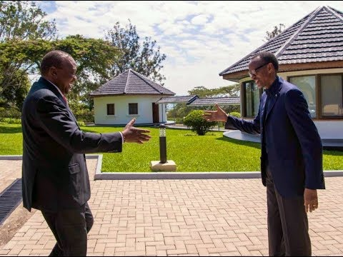 President Kagame welcomes President Kenyatta for a working visit at Umwiherero 2019