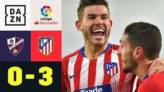 Bayern-Wunschspieler Lucas Hernandez trifft: Huesca - Atletico Madrid 0:3 | LaLiga | DAZN Highlights