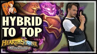 HYBRID COMPS RISE TO THE TOP! - Hearthstone Battlegrounds