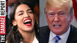 Alexandria Ocasio-Cortez Dunks on Trump Over Lies
