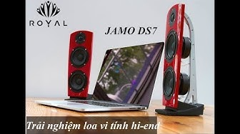 Review Loa Hi-end cao cấp Jamo DS7