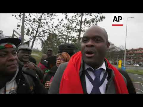 Gbagbo supporters celebrate his ICC acquittal